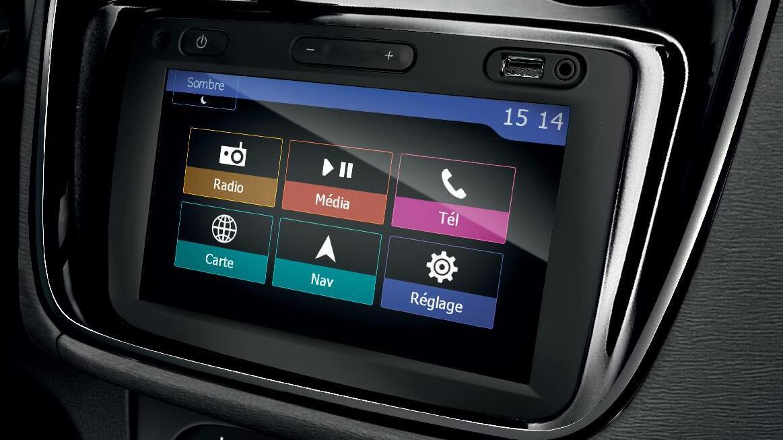 Tekno Paket: Dacia MediaNAV 2.0 Navigasyon ve Multimedya Sistemi, Geri Görüş Kamerası