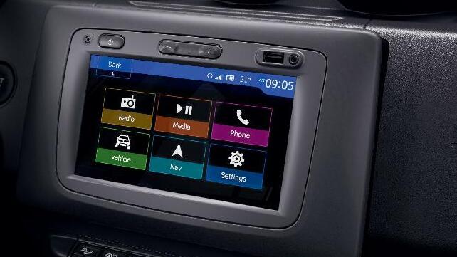 Tekno Paket: Dacia MEDIA NAV Multimedya Sistemi ve Geri Görüş Kamerası