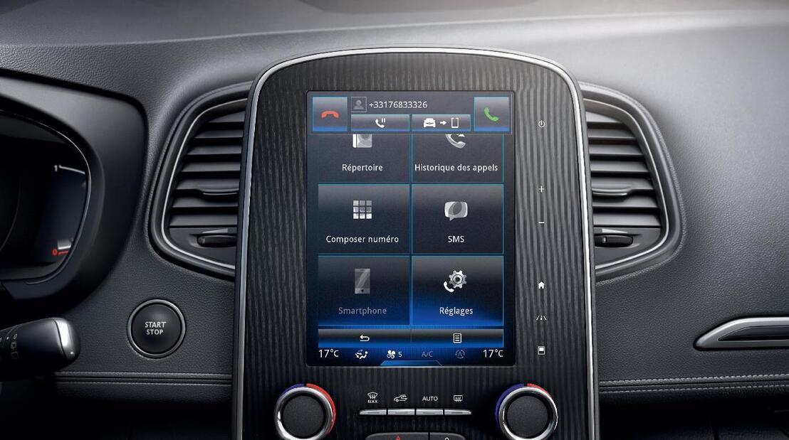 Radio touchscreen da 8.7'' con DAB