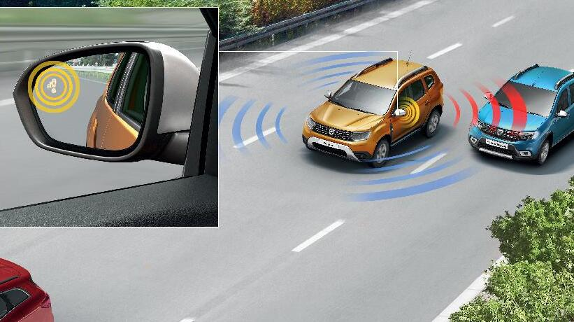 Vizyo Paket: Dacia Media NAV Multiimedya Sistemi, 360' Kamera, Kör Nokta Uyarı Sistem